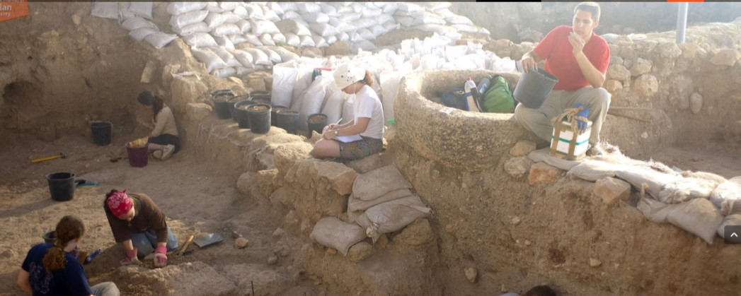 study archaeology in israel